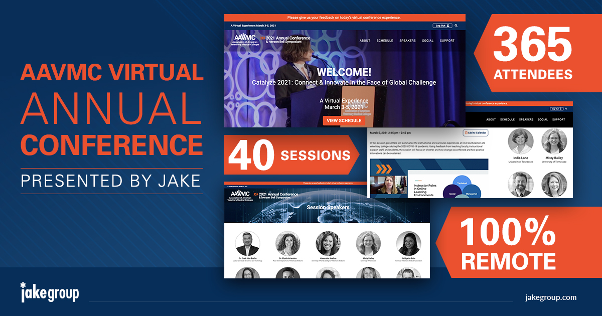 jakegroup: Last day of the #AdobeSummit. Planning a #VirtualConference of your own? We can help. Let's chat!nnhttps://t.co/YayQ0kkinT