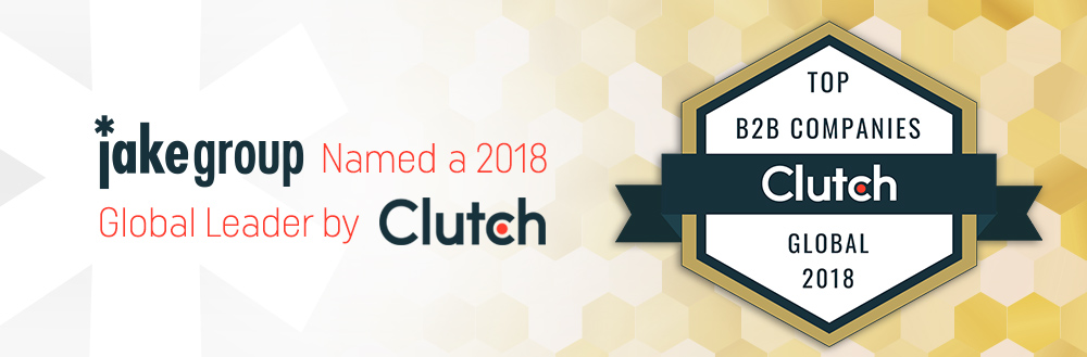 The Jake Group Named a 2018 Global Leader by Clutch