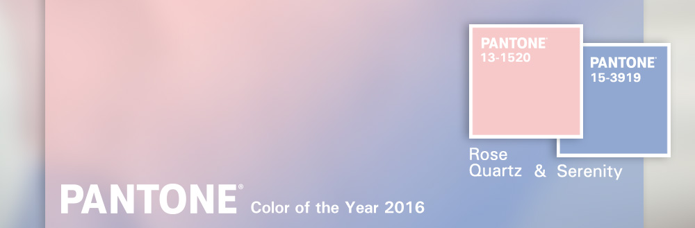 A Softer Blend: Pantone's 2016 Color the Year