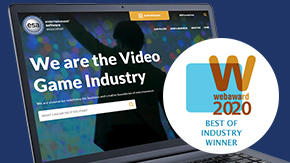 Jake Group Wins WMA 2020 WebAward for the Entertainment Software Association Website