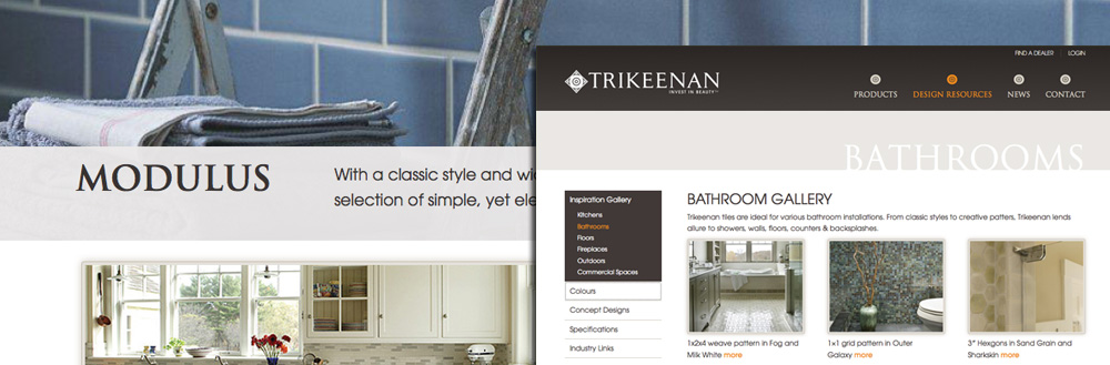 Jake Launches New Site for Trikeenan Tileworks